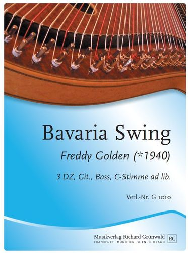 Freddy Golden - Bavaria Swing (3 DZ, Git., Bass, Mel. ad lib.)